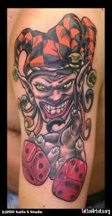 51 scary clown tattoo designs for bad boys u0026 girls picsmine