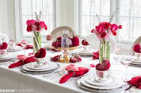 Valentines Day Tablescapes by A Sweet U0026 Simple Little U0027s Room House Design Ideas