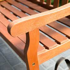 Outdoor Wooden Benches Rustic Wood Bench With Back Garden Benches Wooden Small Curved
