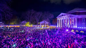 lighting of the lawn tradition draws thousands to grounds uva today