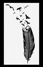 birds e feather tatto design by gabrielreid on deviantart