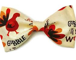 thanksgiving tie thanksgiving bow tie etsy