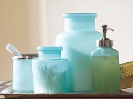 Sea Glass Bathroom Ideas Colors Beach Bathroom Decor Ideas Blue Sea Glass Bathroom Accessories