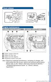 toyota corolla 2010 10 g quick reference guide