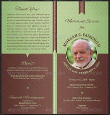 funeral program ideas sle funeral program best memorial service ideas on funeral