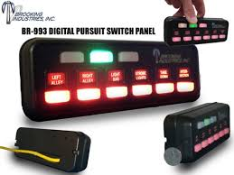 led light bar switch panel brookings digital programmable pursuit switch panel strobesnmore com