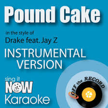 pound cake in the style of drake feat jay z instrumental
