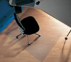 tapis bureau transparent plaque transparente protège sol tapis de bureau econimbin