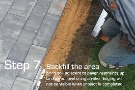 How To Lay Patio Pavers On Dirt by Sure Loc Edging Installation