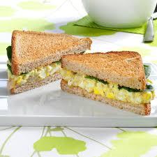 pesto egg salad sandwiches recipe taste home