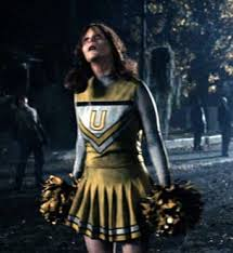 Zombie Cheerleader Incongruously Dressed Zombie Tv Tropes