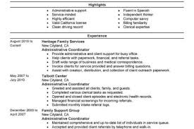Sample Resume Administrative Coordinator by Resume Sample Bookkeeper Resume Sample Medical Receptionist
