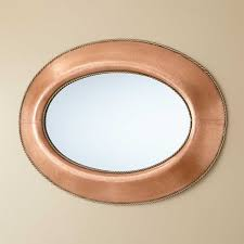 copper bathroom mirrors bathroom copper bathroom mirrors artistic color decor photo with