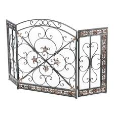 Best Fireplace Screen by Best Iron Fireplace Screens Interior Decorating Ideas Best Fancy