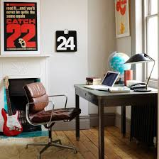 Retro Home Office Retro Posters Are A Simple Way To Inject - Retro home furniture