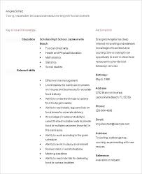 resume template for high students applying for college resume sles for high students applying to college