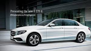 mercedes d class mercedes launches all e class 220 d sedan in india priced