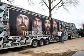 did you see duck dynasty duck commander traveling with the tompkins