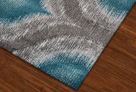 Rugs With Teal Modern Grey Teal Premium Polypropylene Rug Soft And Luxurious