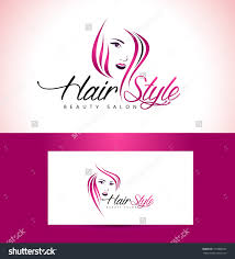 beauty female face logo design cosmetic salon save to a lightbox