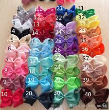 boutique bows 6 inch large hair bows with for you choose girl bows