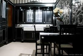 black kitchen cabinets design ideas kitchens black kitchen cabinets popideas co