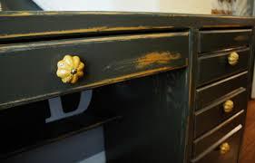 how to refinish a desk before after rustic refinished desk design sponge