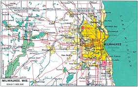 Map Of Chicago Suburbs U S Metropolitan Area Maps Perry Castañeda Map Collection Ut