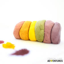 dye free natural play dough recipe and many more natural doughs