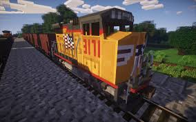 minecraft car pe traincraft