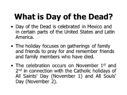 día de los muertos day of the dead what is day of the dead day