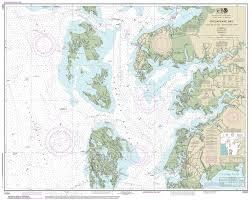Sound Map Modern Nautical Charts Of The Chesapeake Bay