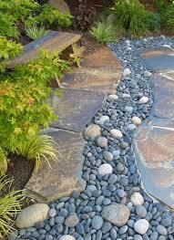 stone garden design shocking 25 best ideas about rock garden