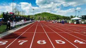how far is 200 meters on a track reference com