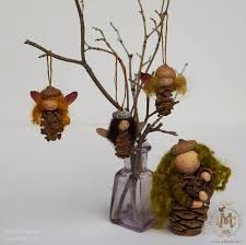 willodel pinecone ornament tutorial