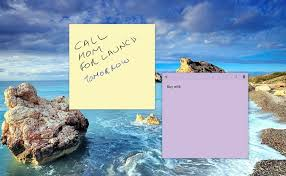 post it windows 7 bureau how to use the sticky notes app in windows 10 to remind you all the