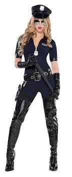 cop costume traffic policewoman fancy dress cop officer womens