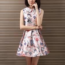 balloon dress yichaoyiliang swan collar princess midi dress for women summer