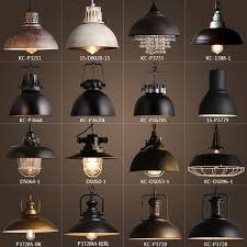 Metal Pendant Light Fixtures Vintage Rustic Metal Lshade Edison Pendant L Lights Retro