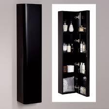 Bathroom Storage Black Black Framed Mirror Bathroom House Decorations