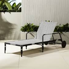 Outdoor Chaise Lounge Chair Unique Outdoor Furniture And Decor Cb2