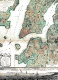 Wall Map Of New York City by The Ratzer Map Of New York 1767 Nyc