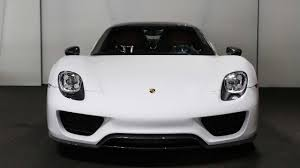 Porsche 918 Hypercar - this is the only arrow blue porsche 918 and it u0027s for auction