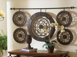 Decorative Metal Wall Clocks 31 Best Mi Casa U003d Large Wall Clocks Images On Pinterest Big