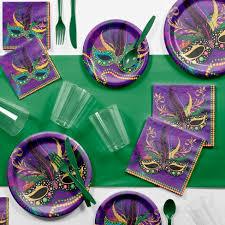 mardi gras supplies creative converting mardi gras masks party supplies kit target