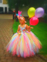 princess lolly halloween costume rainbow tutu dress flower girls princess tutu pageant dress