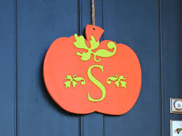 Craftcuts by Plump Pumpkin Monogram Wreath Craftcuts Com