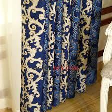 Royal Velvet Curtains Dark Royal Blue Velvet Insulated And Thermal Blackout Curtains