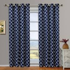 Insulated Window Curtains Meridian Pair Set Of 2 Blackout Thermal Insulated Grommet