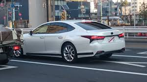 lexus ls 2018 lexus ls spy shot japan indian autos blog